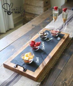 Serving Platter #DIY