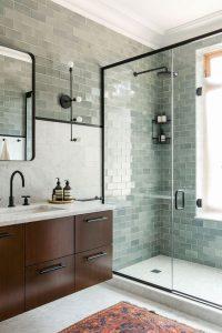 Tile Walls Beyond The Shower