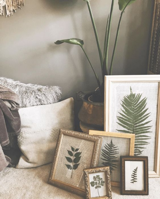 DIY Pressed Plant Frame